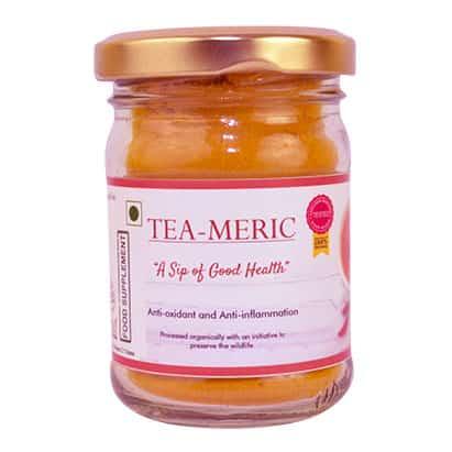 healthy option for tea with Tea-meric