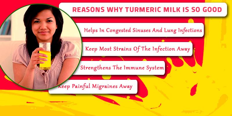 turmeric milk is so good