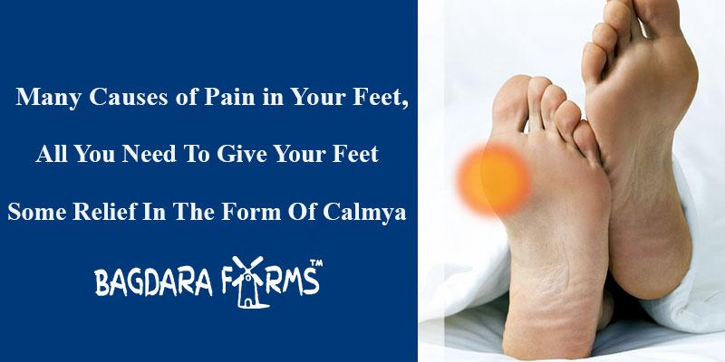 calmya for pain in feet