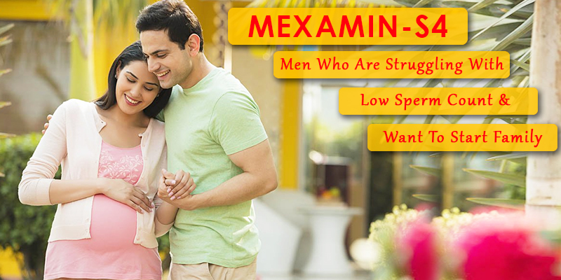 Increase sperm count with mexamin-S4